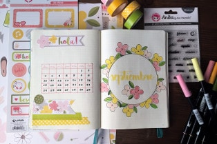 sellos planner para bullet journal
