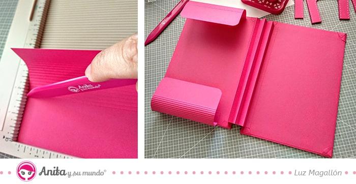 cómo hacer una carpeta maletín