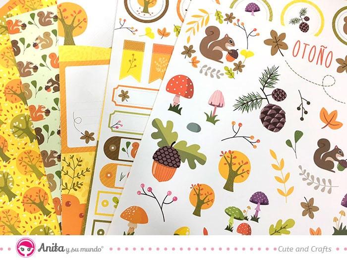 colección scrapbooking de Anita y su mundo