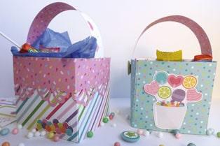 cajas para guardar chuches y dulces