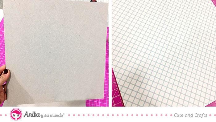 chipboard de 2 mm para hacer planner