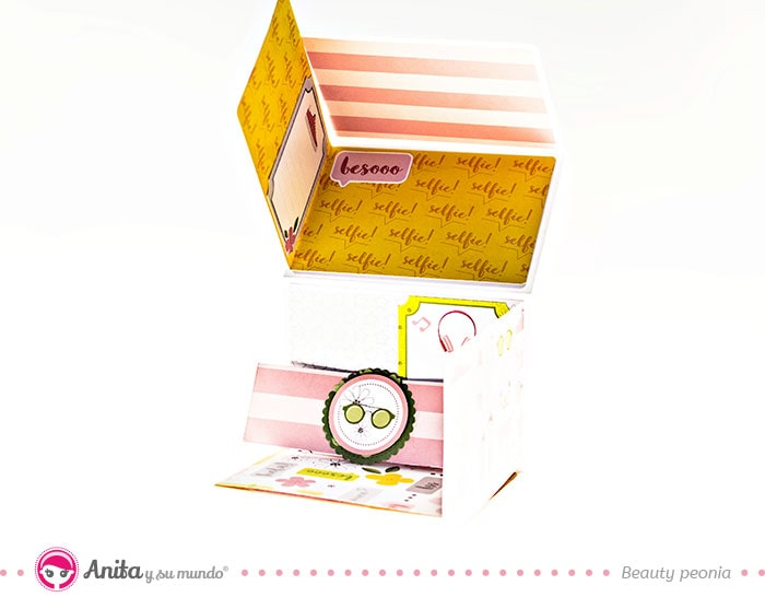 diy mini album de papel