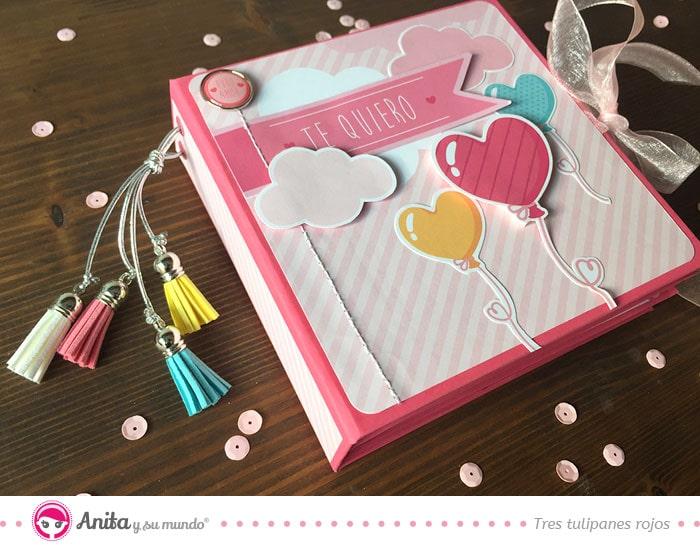 Diy Mini álbum Romántico Para San Valentín Anita Y Su