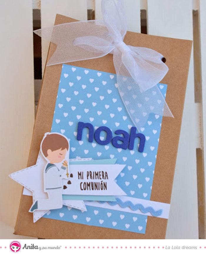 cómo hacer cajas para comuniones