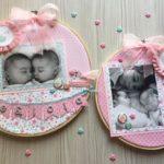 regalos para bebés de scrapbooking