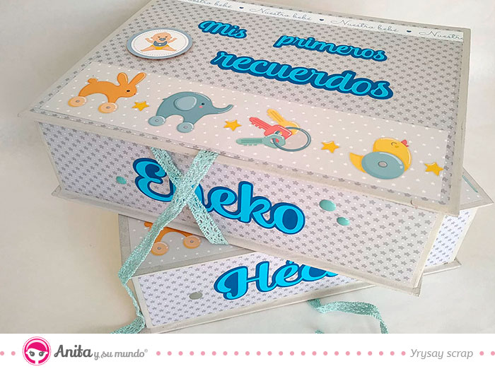 cajas de recuerdos para bebés