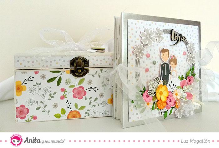 diy álbum de promesas para bodas
