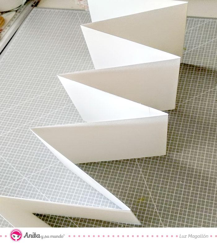 tutorial encuadernación zigzag