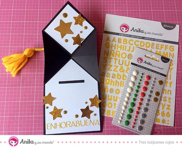 decorar tarjetas para regalos