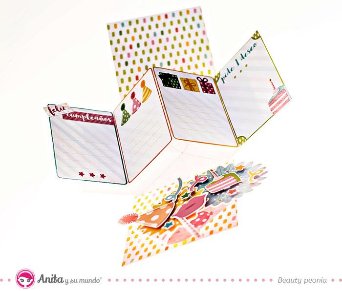 tarjeta pop up de cumpleaños
