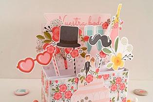 card in box de bodas
