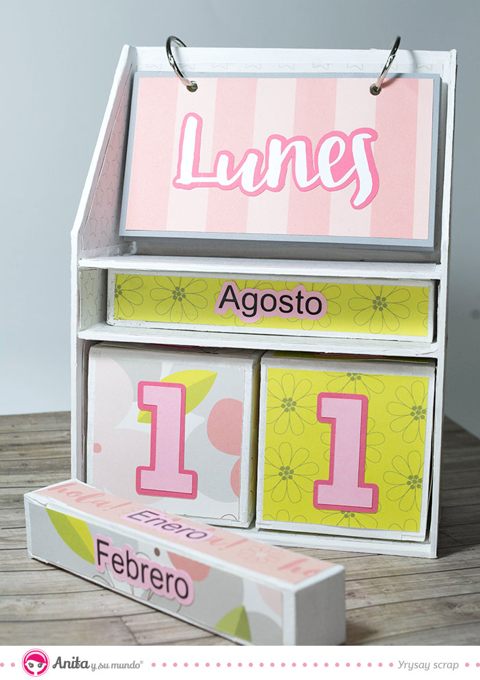 tutorial calendarios diy