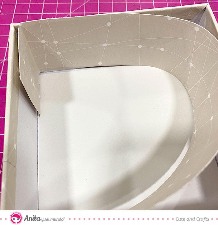 como forrar cajas de cartón facilmente