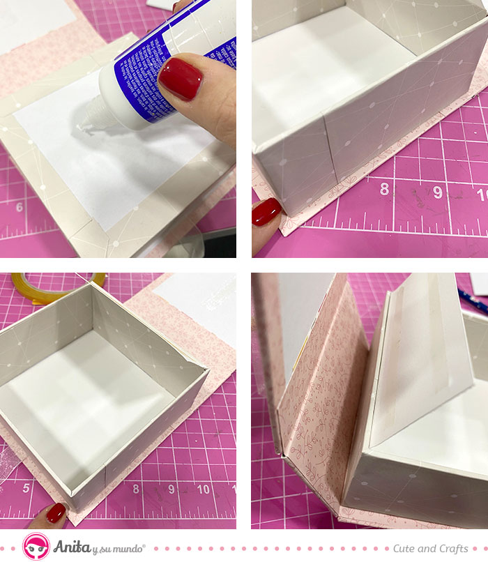 como hacer caja regalo boda original