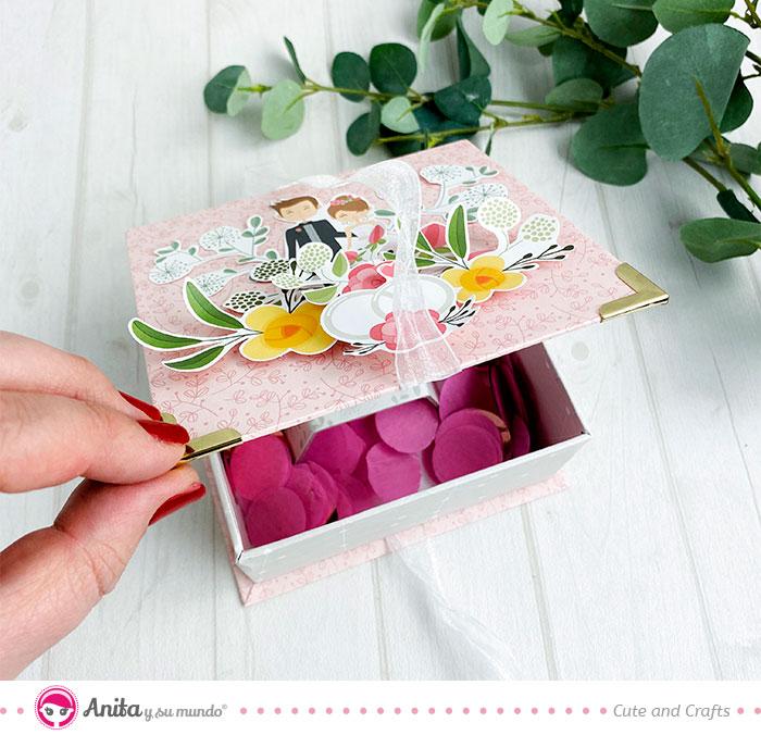 tutorial caja para anillo de bodas diy