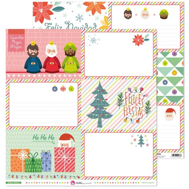 37011648 coleccion scrapbooking FELICES FIESTAS tarjetas papel navidad