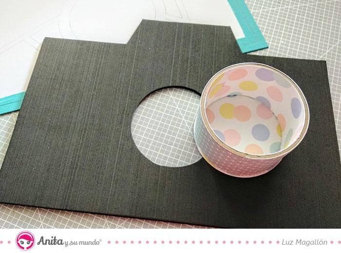 como hacer un shaker con lentejuelas de colores