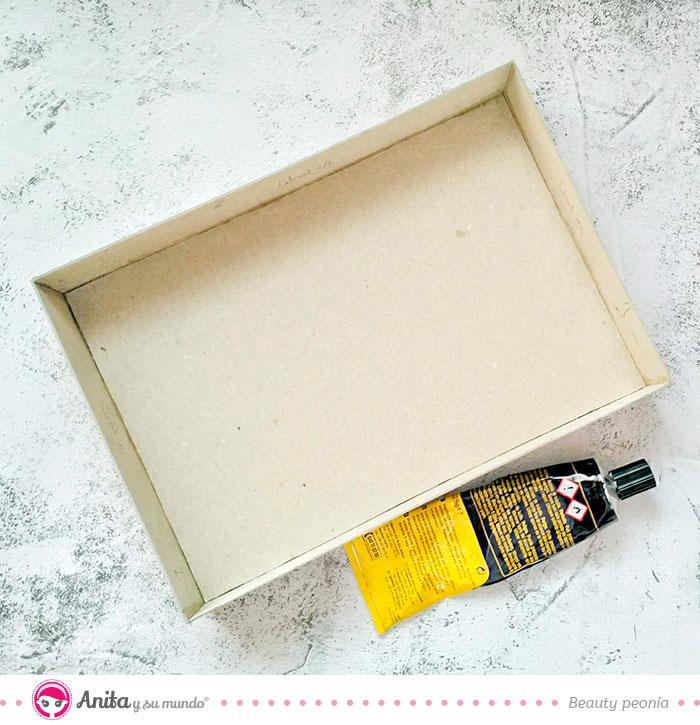 como hacer cajas con carton basicos de anita