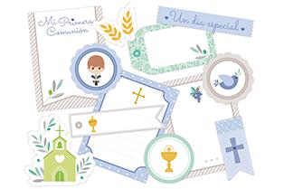 coleccion scrapbooking primera comunion